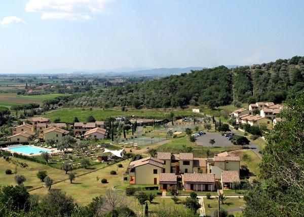 Residence Toscana Vicino al Mare - Le Corti di Montepitti